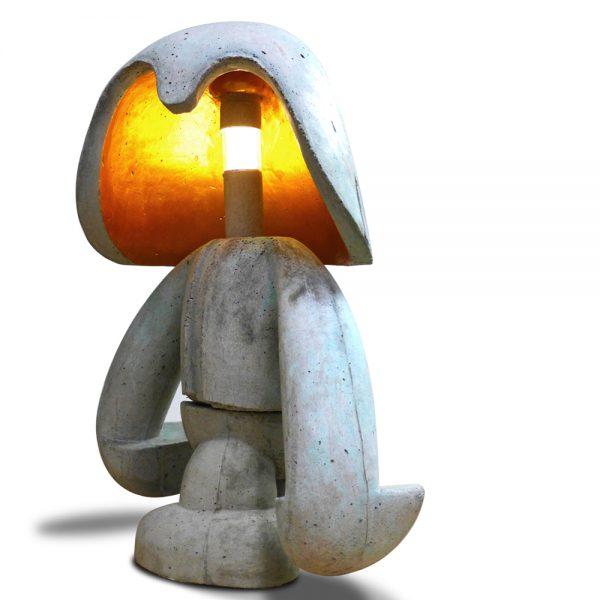Wachter | beton + licht | 90 cm